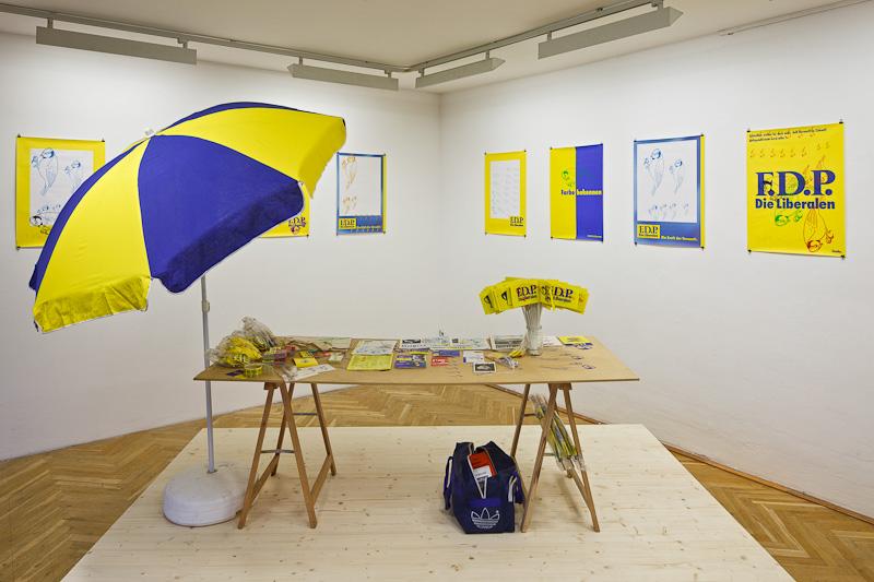 Wolfgang Müller, Ausstellungsansicht Extra und Gleichzeitig,