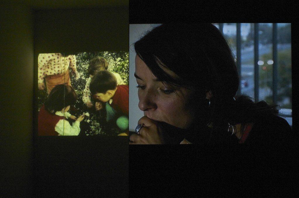 Tal Sterngast, Let's Talk About Children, 2007. Zweikanalvideoinstallation, 8 min