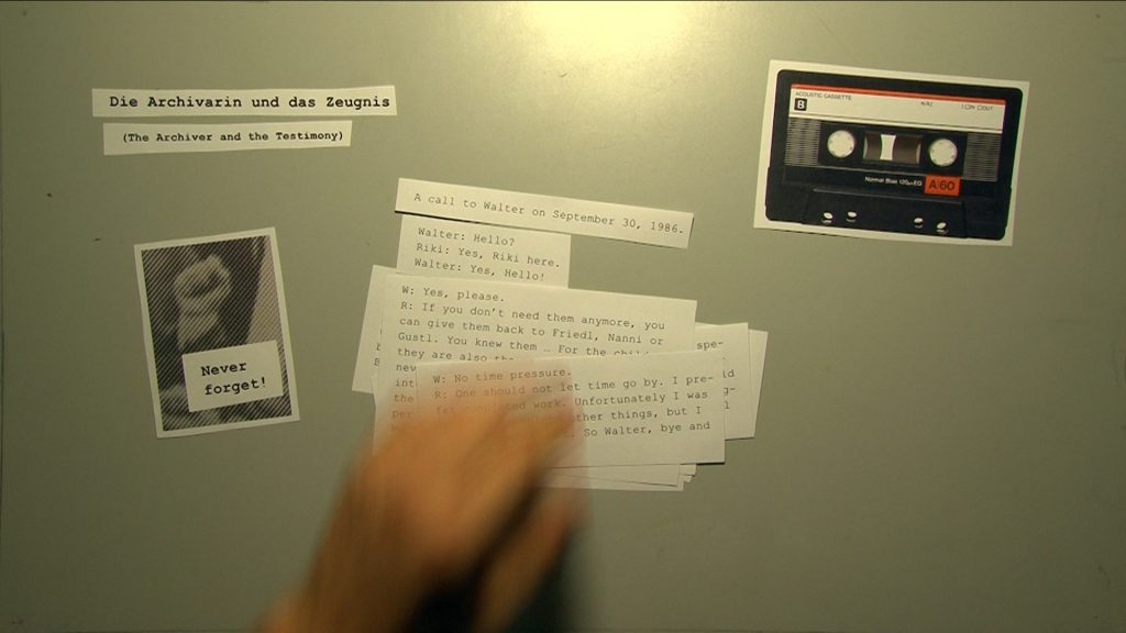 Eduard Freidmann: The White Elephant Archive, Videoinstallation, 2013