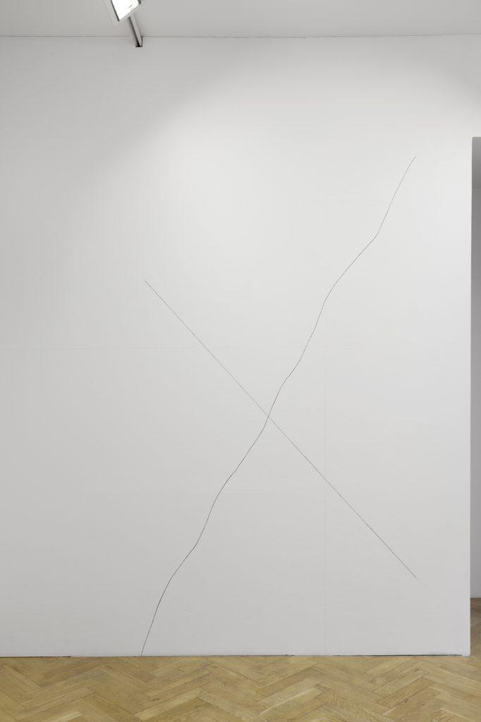 Sol LeWitt, A straight line..., a not straight line, 1974, Courtesy: Sammlung Elisabeth und Gerhard Sohst in der Hamburger Kunsthalle