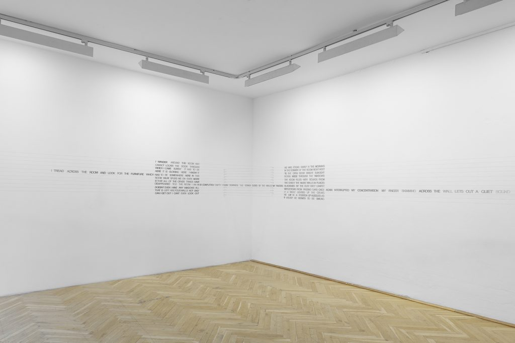 Ján Mancuška, I turn towards the corner guided by the walls, 2007, Courtesy: Meyer Riegger, Karlsruhe/ Berlin, Andrew Kreps Gallery, New York