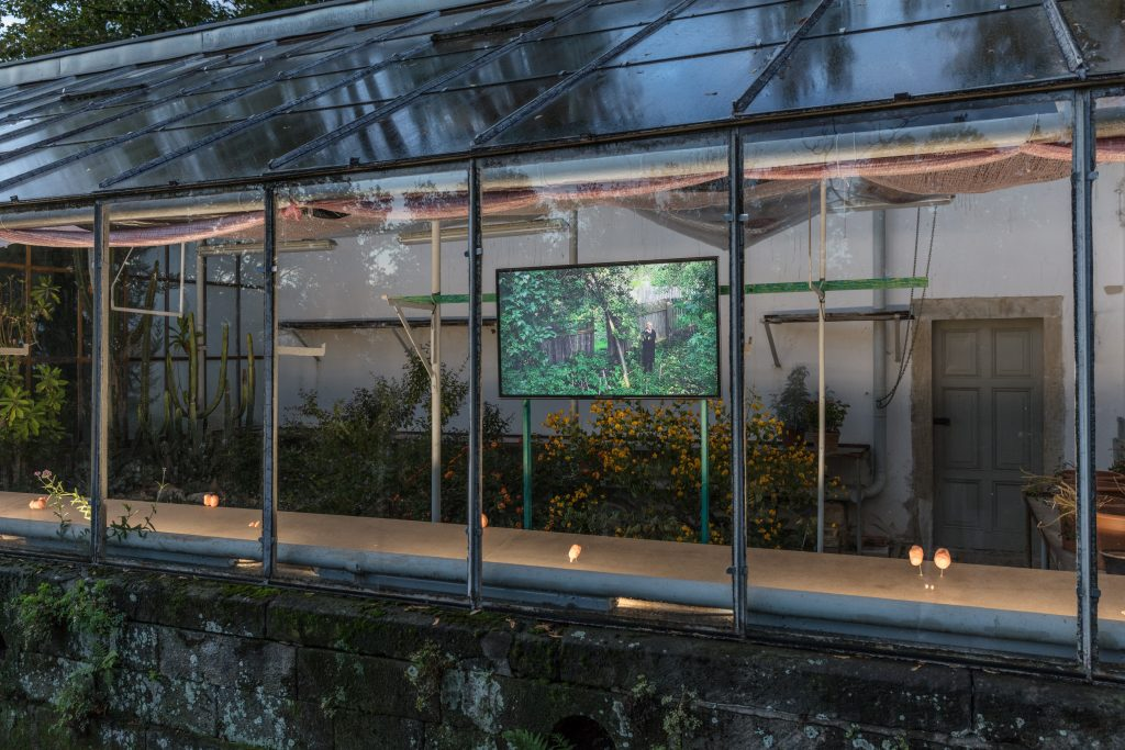 Flo Kasearu: Startup 25 (2018) und (De)Fence (2014). Foto: David Brandt