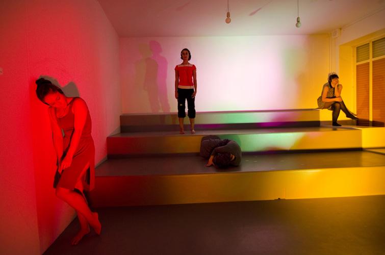 Sarah K. Balzat: Sonakinatography, Festival Test Run, 2012