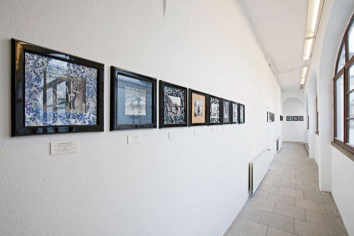 Ausstellungsansicht; Foto: David Brandt