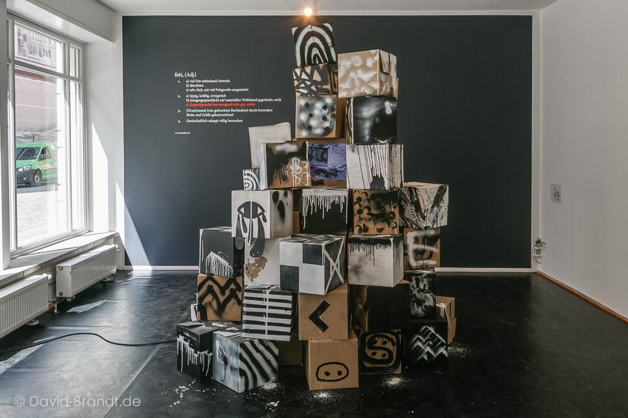 Ausstellungsansicht Kunsthaus.