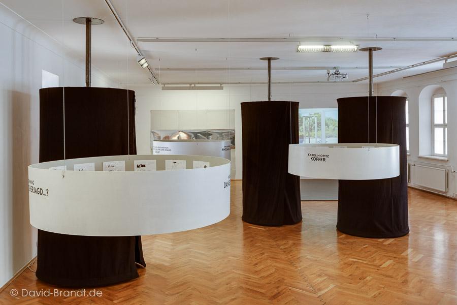 Ausstellungsansicht. Foto: David Brandt