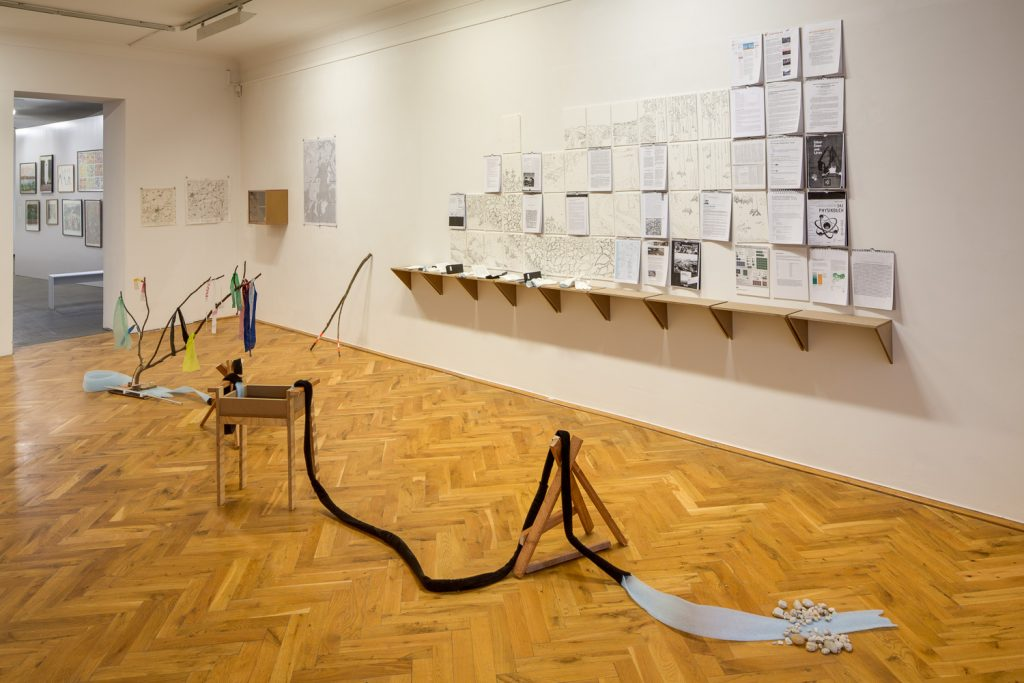 Ausstellungsansicht, Foto: David Brandt