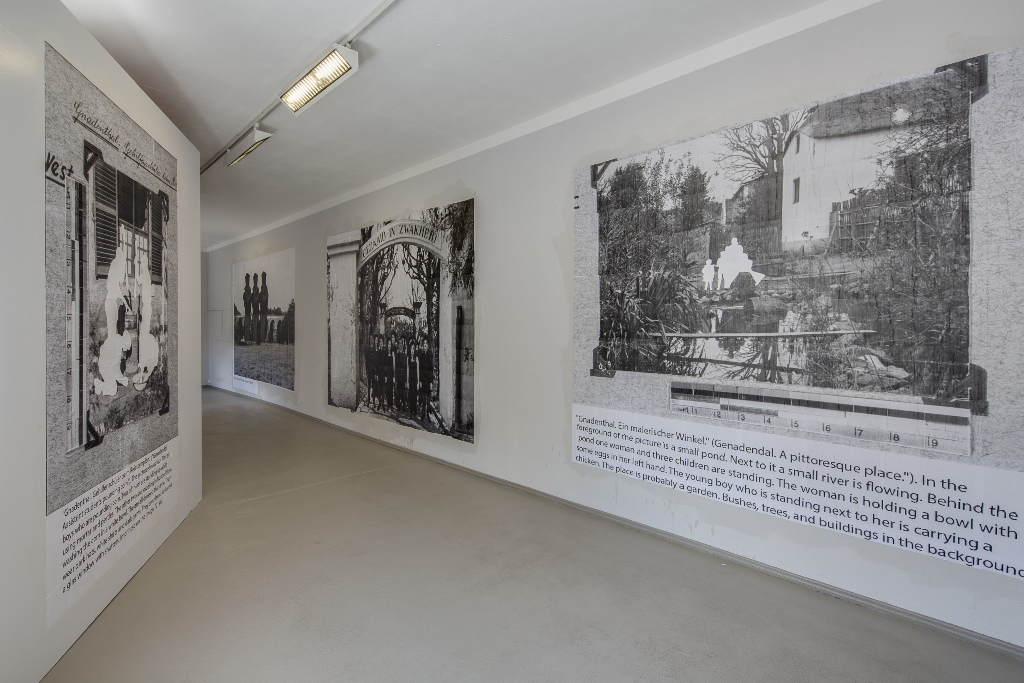 Burning Museum The Mission and the Message, 2015, Wheat Pastes. Installationsansicht Kunsthaus Dresden, Foto: David Brandt