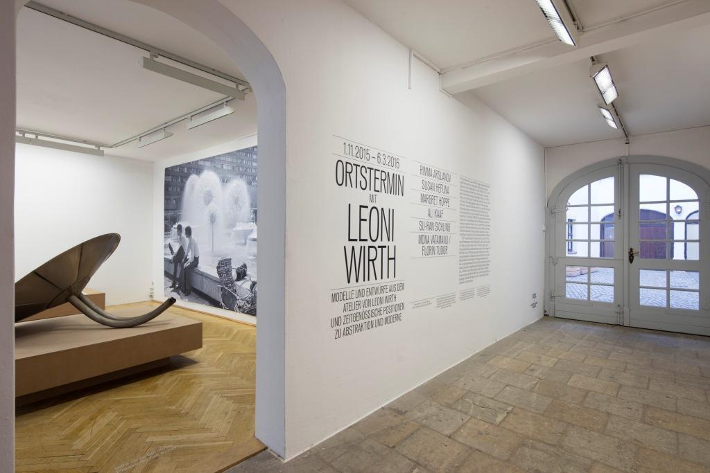 Ausstellungsansicht Eingangsbereich. Foto: David Brandt