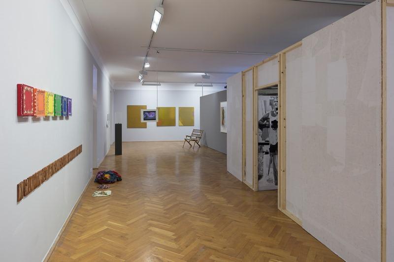 Ausstellungsansicht Immer Ärger mit den Großeltern, Kunsthaus Dresden, 2018. Foto: David Brandt