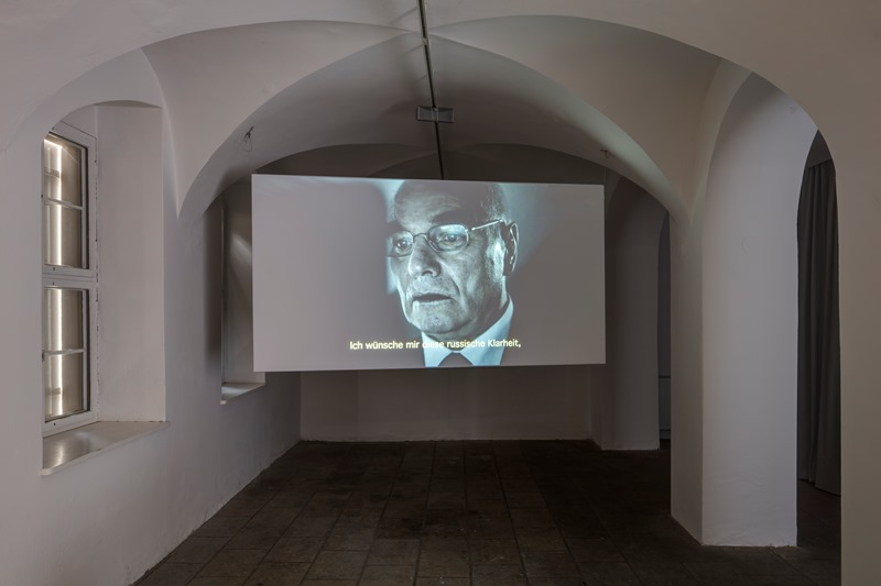 Sven Johne: Lieber Wladimir Putin. Installationsansicht 2018. VGBild-Kunst Bonn, 2017