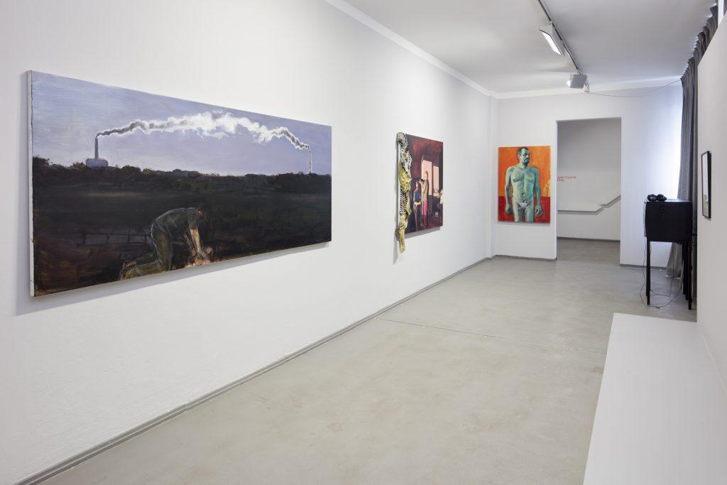 Ausstellungsansicht Jaan Toomik: Selfportrait with cut-off penis (Homage to Van Gogh), 2015, Kunsthaus Dresden Foto: David Brandt /  Courtesy of the Artist and Temnikova & Kasela, Tallinn