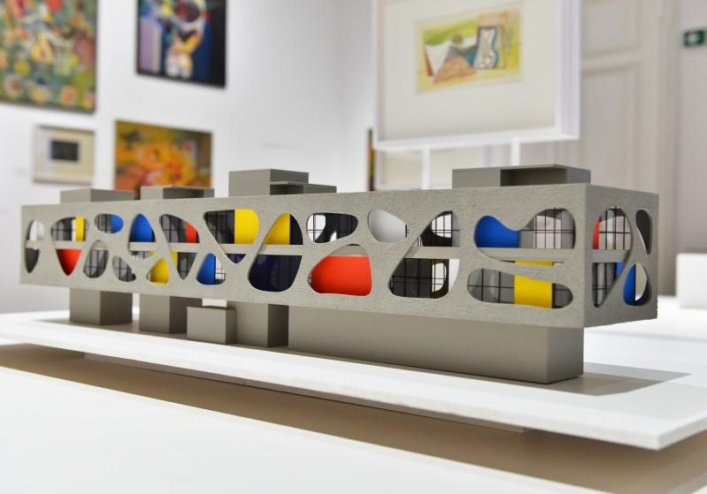 Die Freude an neuen Konstruktionen / The Joy of New Constructions. Marian Boguszs (post)war utopias Foto: Marek Krzyżanek / Zachęta Nationalgalerie in Warschau