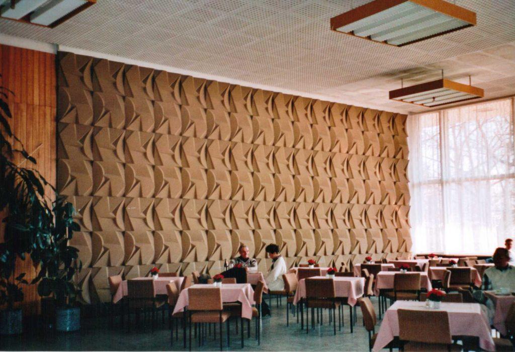 Blick in den großen Saal A am Ende der achtziger Jahre. Foto: Eberhard Wolf
