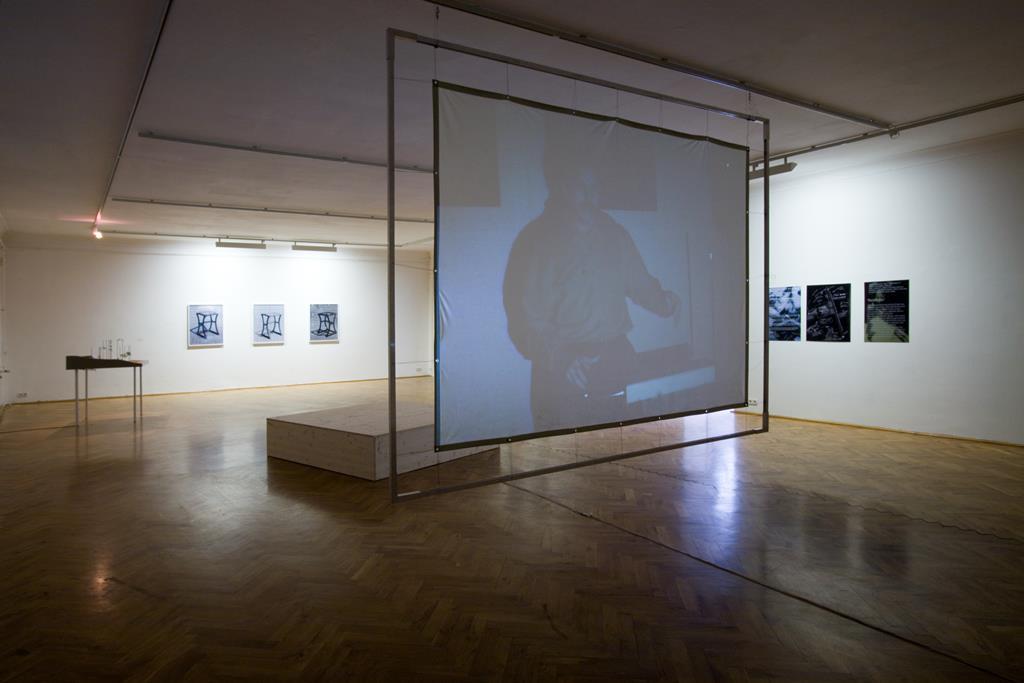 David Askevold: My Recall of an Imprint from a Hypothetical Jungle, 1973. Video / 6 Min. Ausstellung