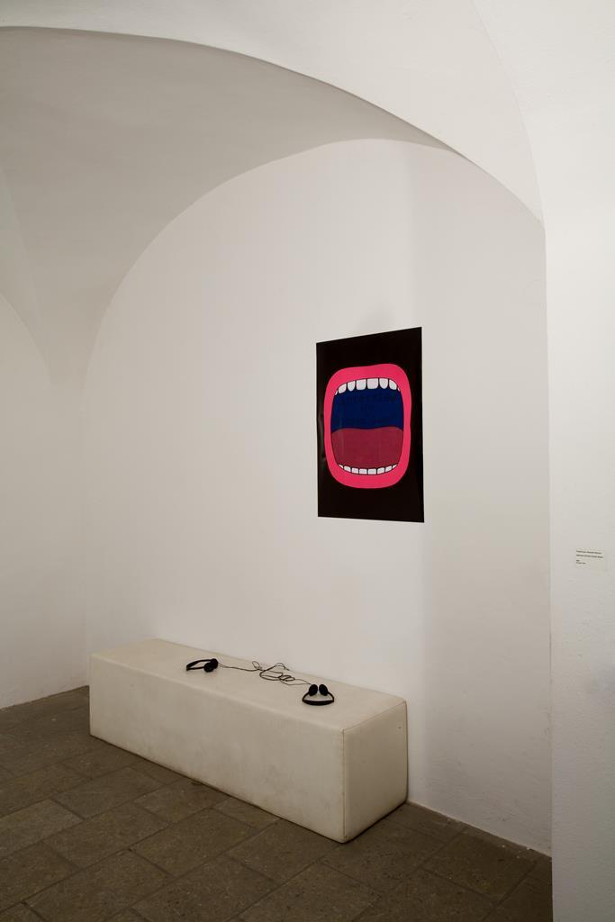 Frauke Gust & Michaela Wünsch: Interview mit einer Scream Queen, 2006 Hörstück / 9 Min. Ausstellung
