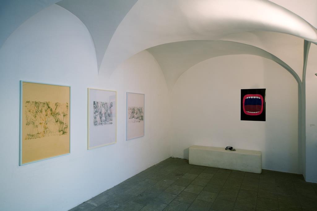 Links: Arthur Ou: Serie Untitled, 2006. Ausstellung