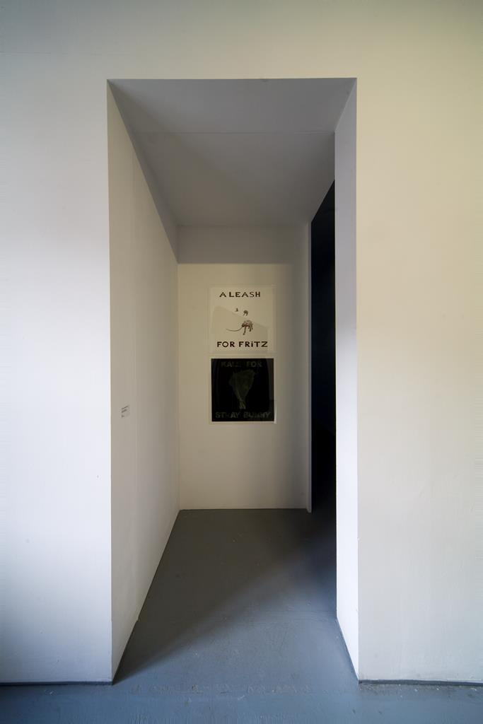 Reza Monahan: Ignis Lickspittle Fatuus, 2006 Montage. Foto: David Brandt