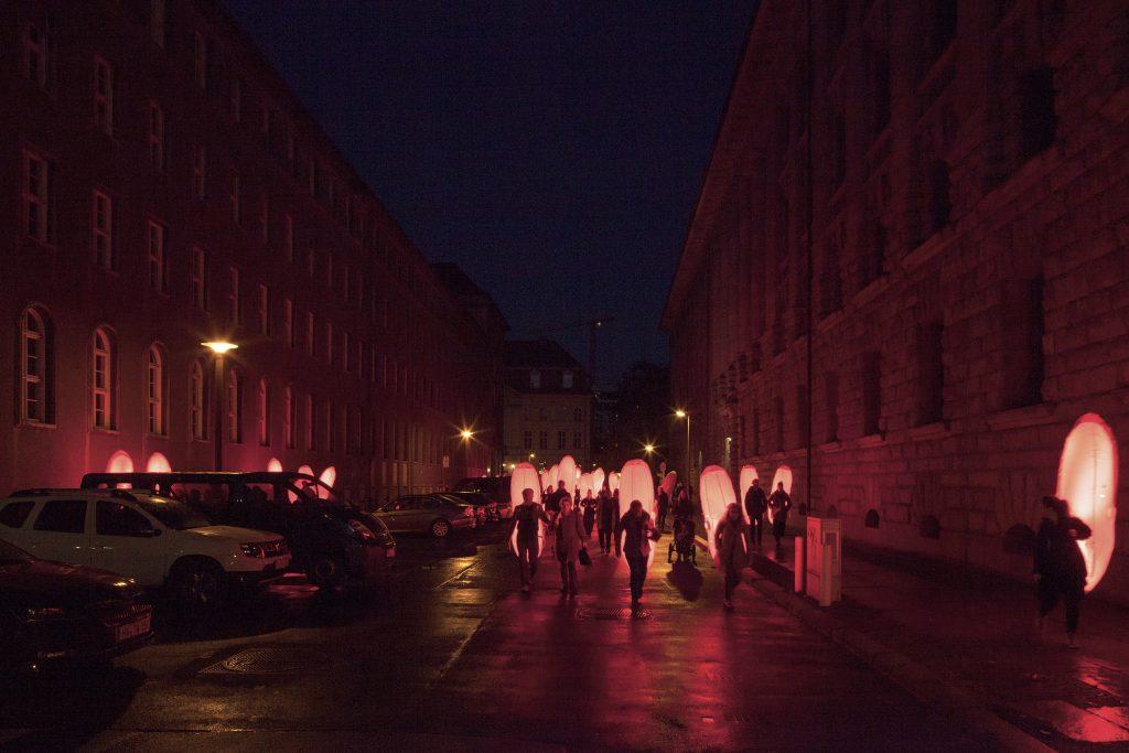 Signals, Resonating Revolutions, ein Performance von Tools for Action Foundation in Kollaboration mit Kulturprojekte Berlin für das Projekt 100 Jahre Revolution - Berlin 1918/19 Foto: Luca Girardini
