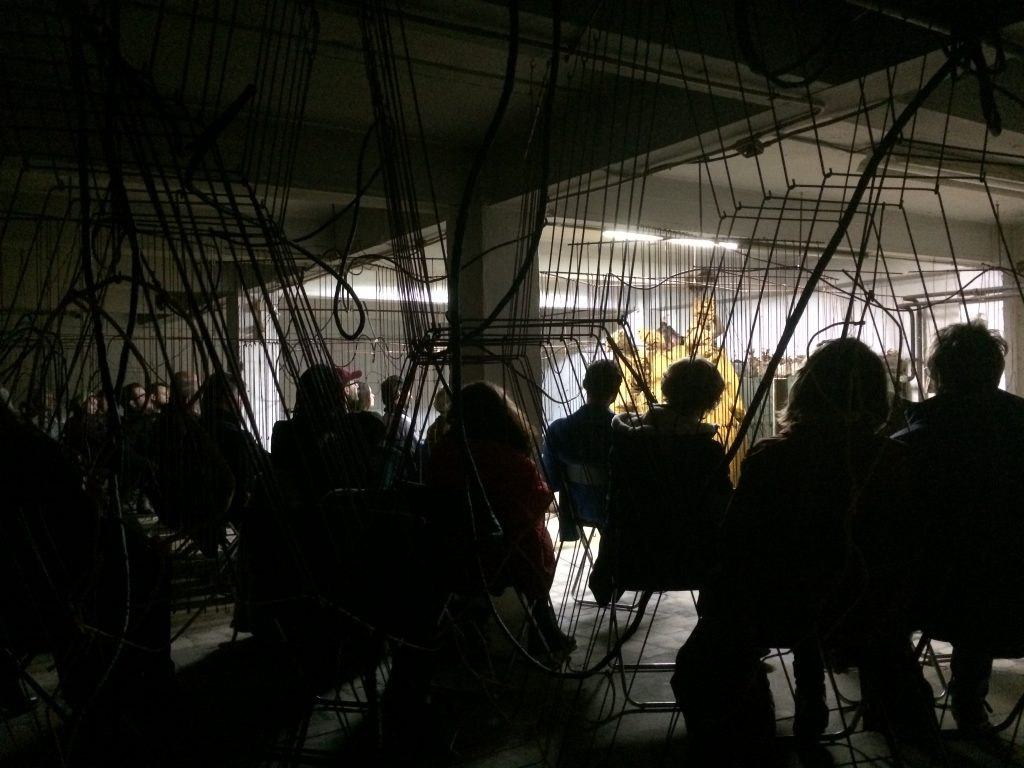 Fungal Follies was originally presented as a finissage to site-specific installation The Means, The Milieu at Objectif Exhibitions in Antwerp, Belgium in 2014