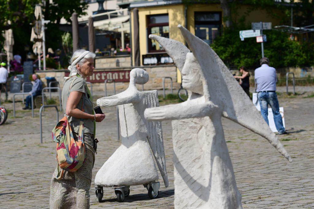 Marit Benthe Norheim Rolling Angels in Dresden; 9. Mai 2020; Foto Anja Schneiderå