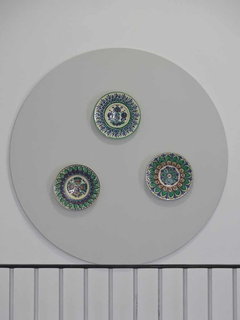 Wandteller aus Oberlausitzer Keramik o.J., Foto: Anja Schneider