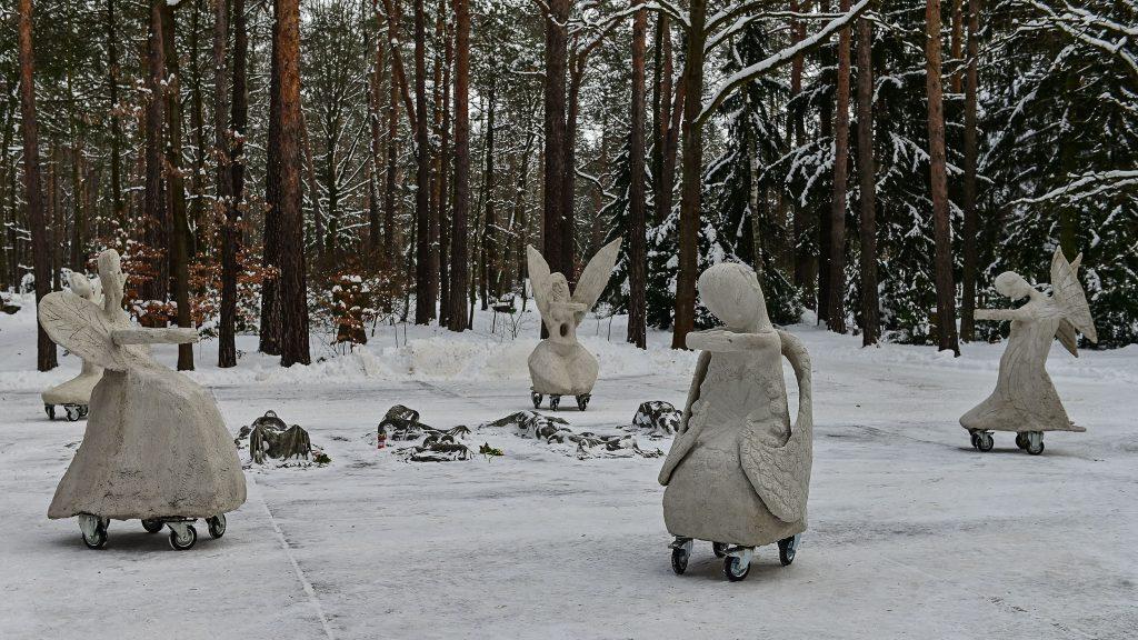 Rolling Angels am 13. Februar auf dem Dresdner Heidefriedhof; ©Anja Schneider