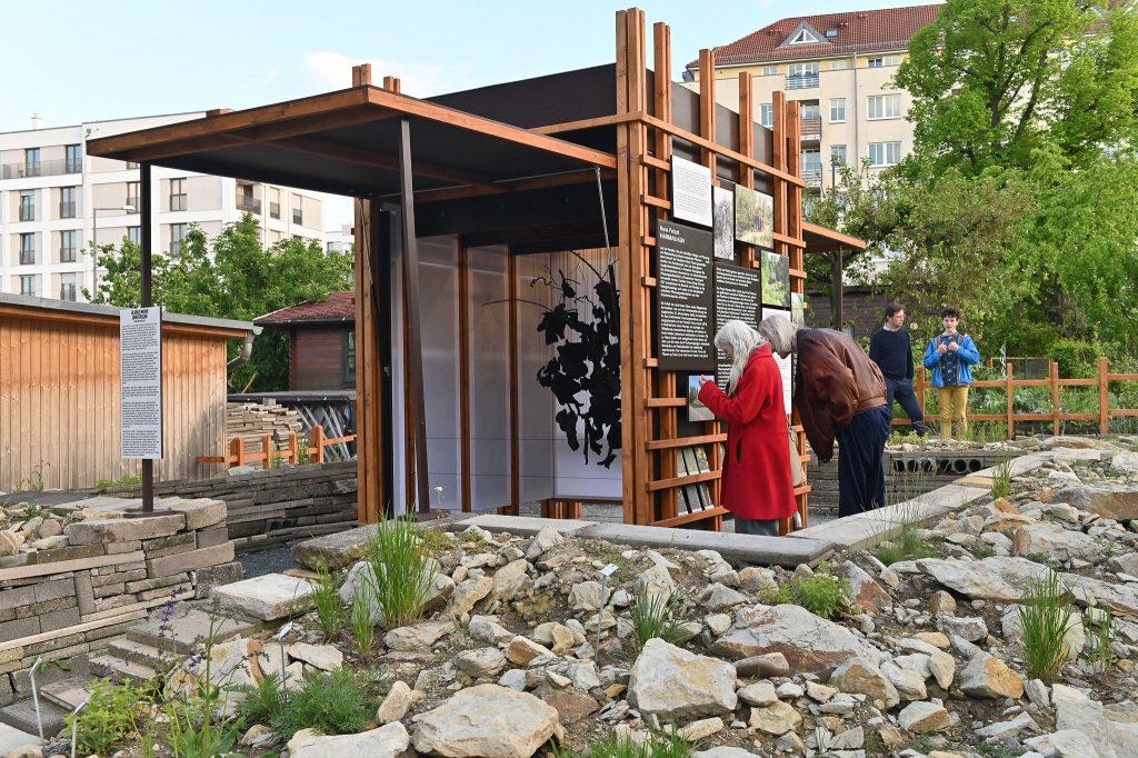 Ulrike Mohr; UNIVERSUM, Pavillon; Parzelle 3 20.5.2021