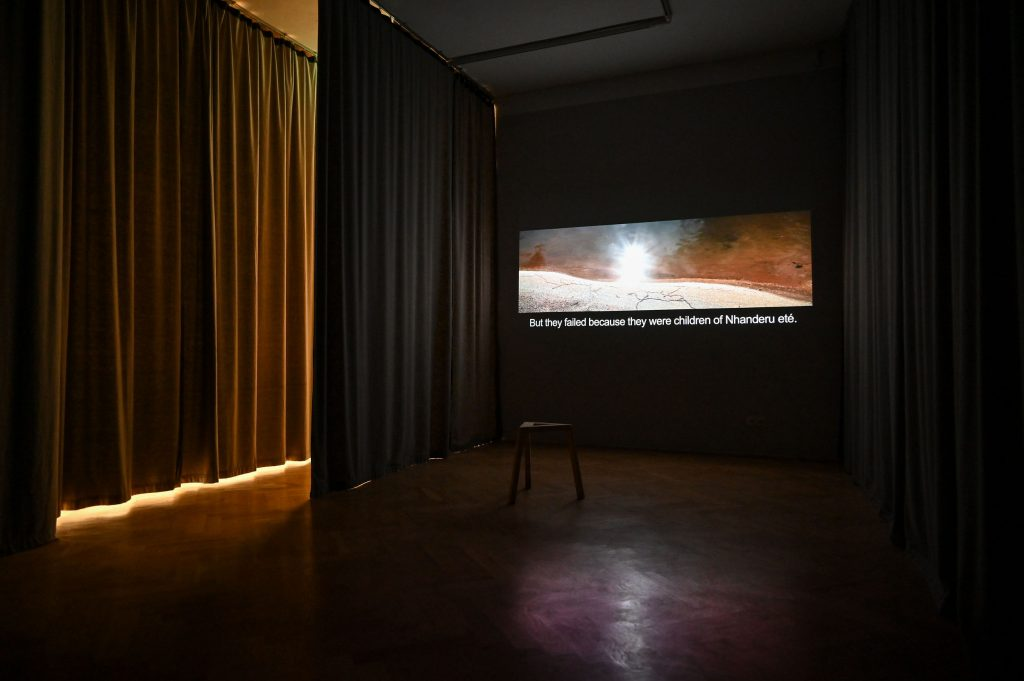 Aline Baiana, At that time, when everything was human (2016), Video, 26:48 min, Foto: Anja Schneider