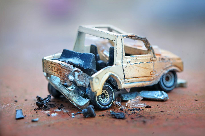 Unfallwagen - Suzuki SJ 4013
