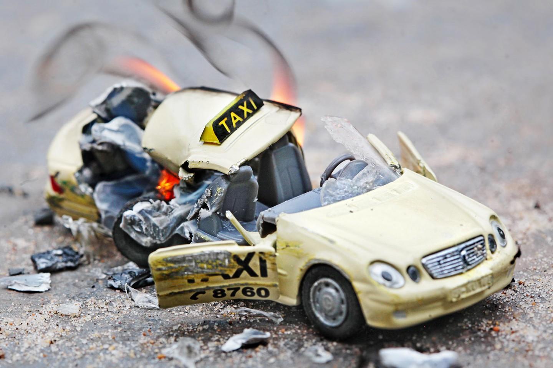 Unfallwagen - Mercedes Benz E500