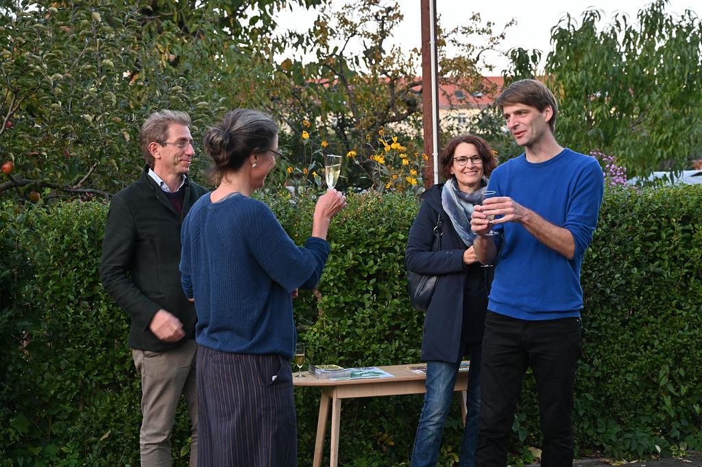 Andreas Kempe; Es war nicht alles auf einmal zu sehen; Pavillon Parzelle 3; Flora I Dresden